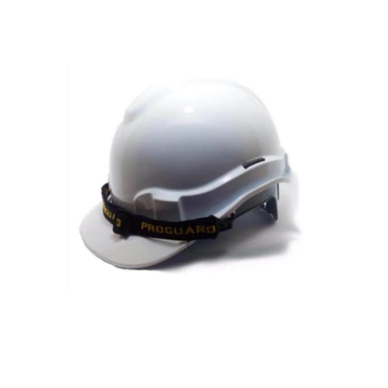 White Proguard Safety Helmet (SIRIM) for industrial / construction sites