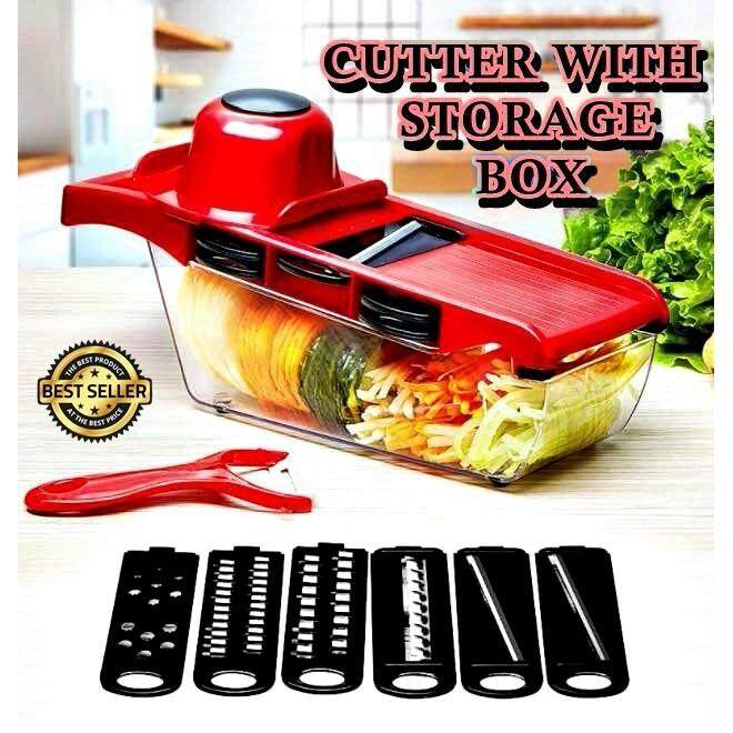 6 in 1 fruits and vegetable cutter