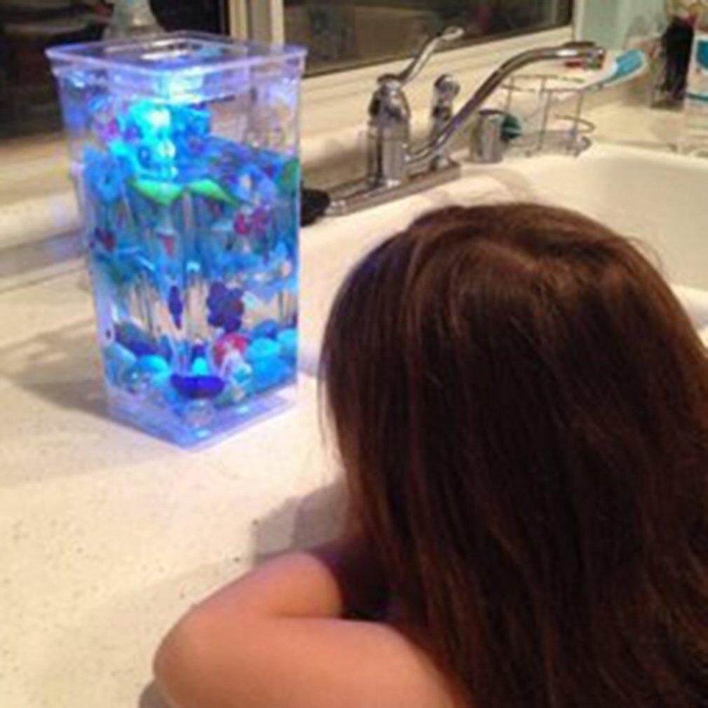Price Ustore Special My Fun Fish Self Cleaning Tank Mini Complete Aquarium Small Fish Tank Intl Oem Online