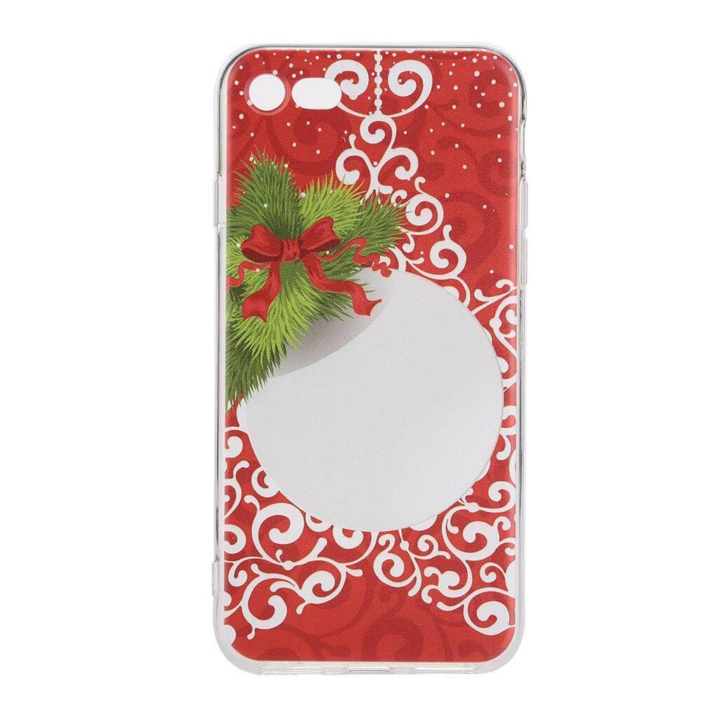 Grand Toko 2018 Gaya Baru Ponsel Cover Casing Ponsel Colorful TPU Natal Pola Anti-Slip Tahan Air untuk UNTUK iPhone 7/8- internasional