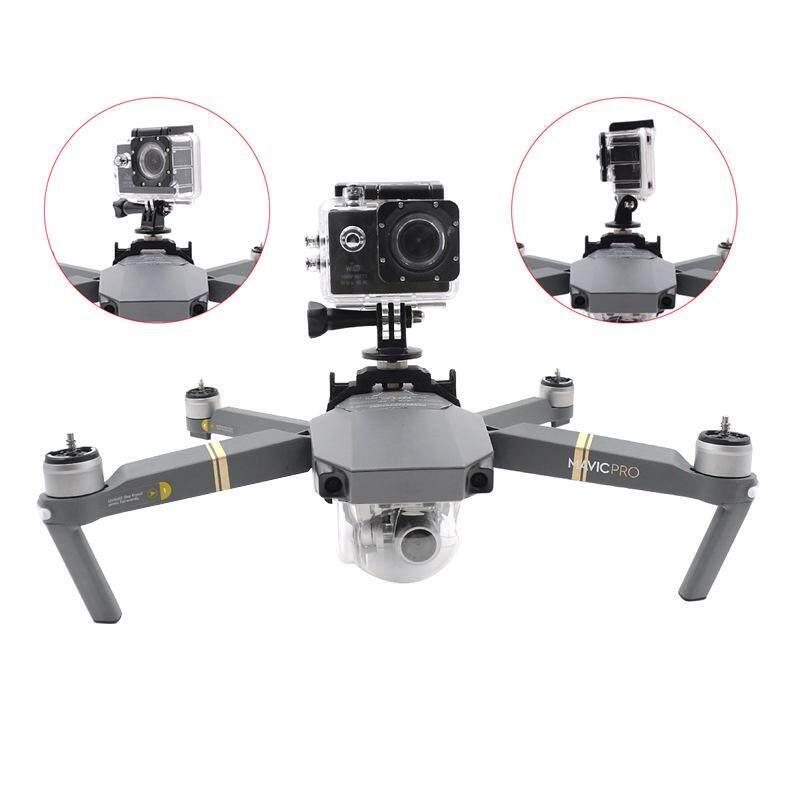 Camera Holder LED Light Mount Kit For DJI Mavic Pro Platinum Drone Gopro - intl
