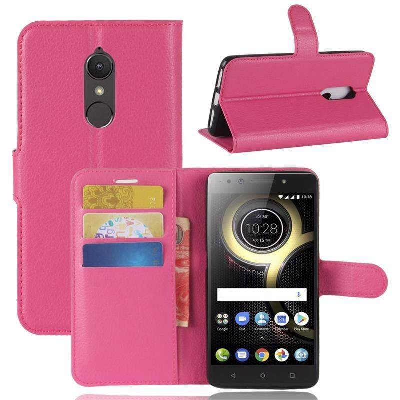 Flip PU Leather Phone Case For Lenovo K8 Smartphone Wallet Cover Bag For Lenovo K8 Cases - intl