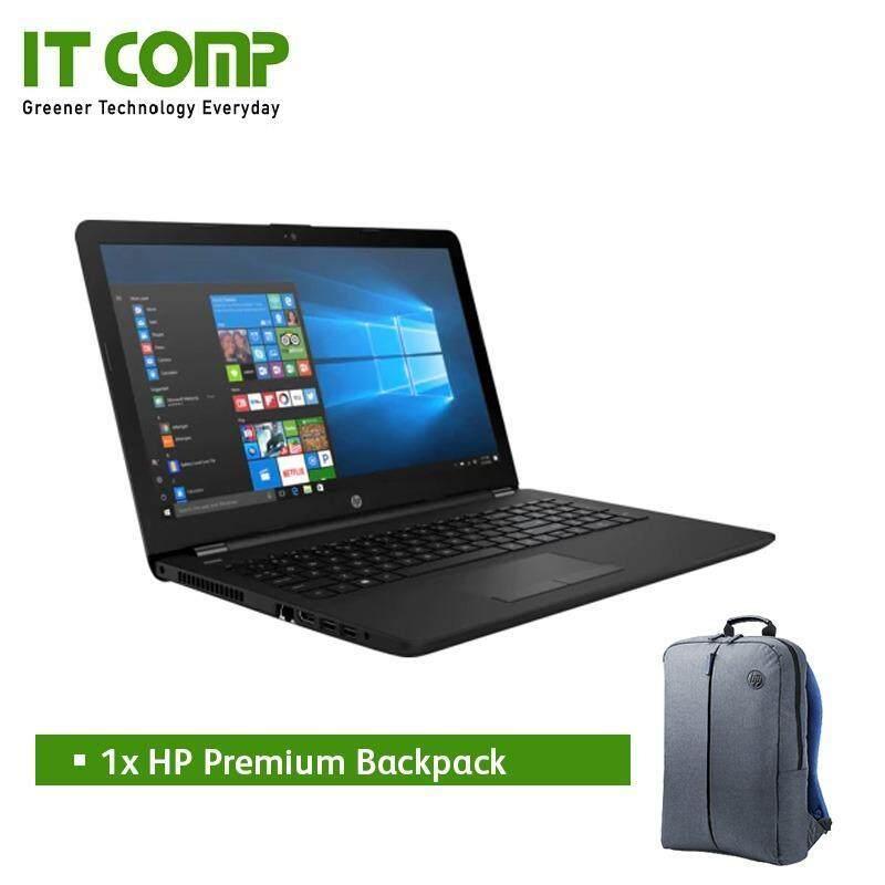 HP 15-bs641tx 15.6 Black (i5-7200U/4GB/1TB/Radeon 520 2GB/W10H) Malaysia