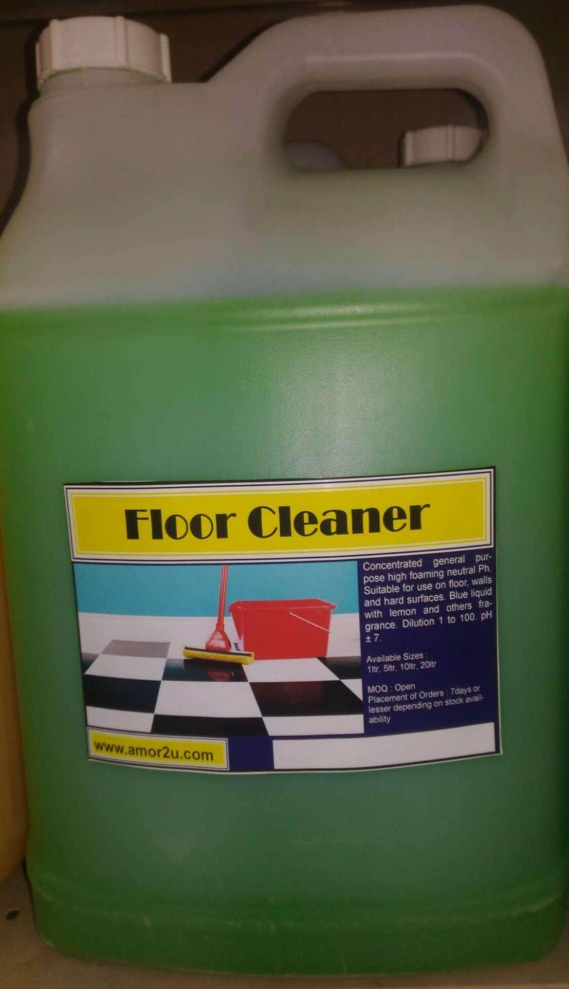 1 drum. Of 10liter lavender or apple flavor floor cleaner