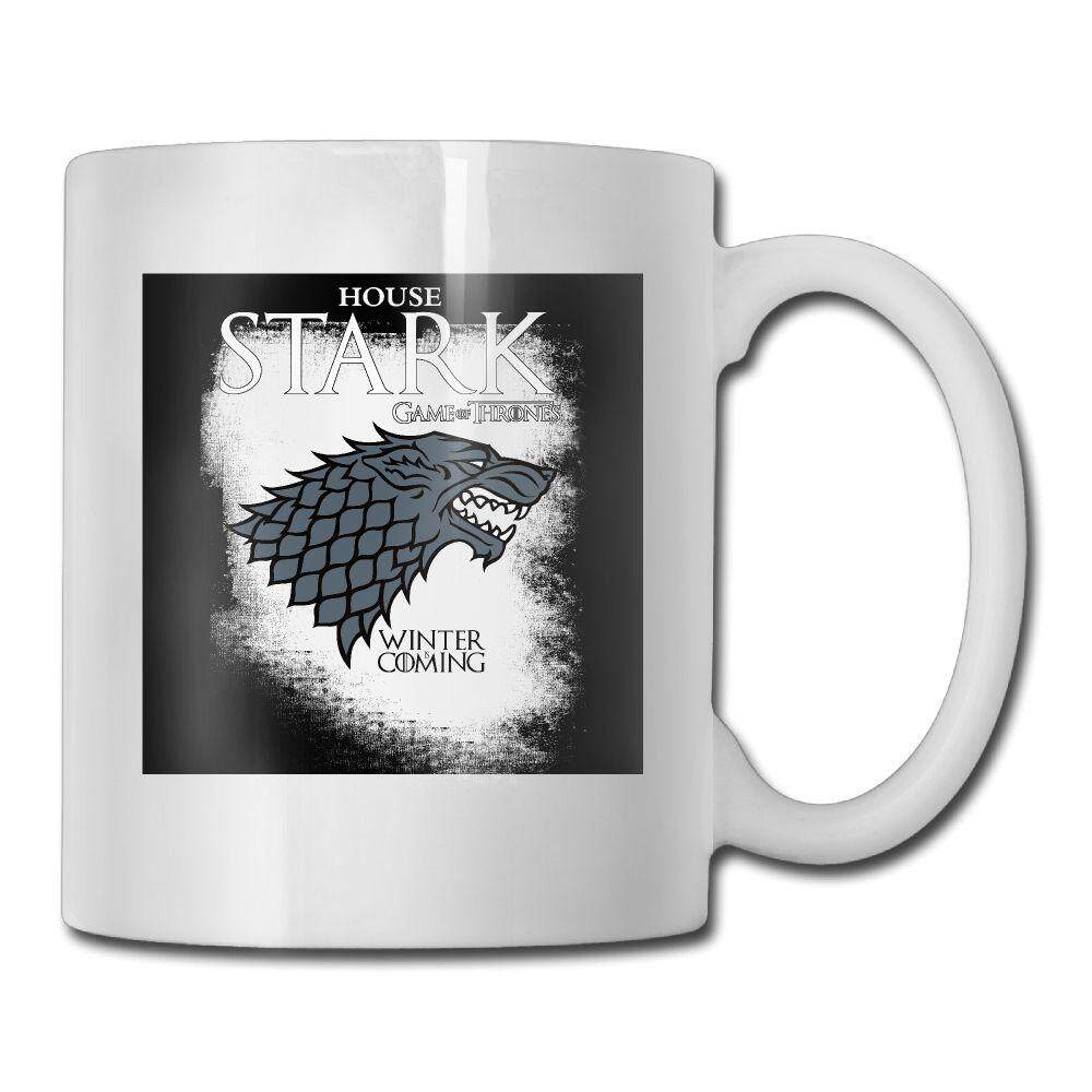 Coffee Mugs 2018 Unique High Quality Game Of Thrones House Stark.png Coffee Tea Mug Cup Unisex - intl