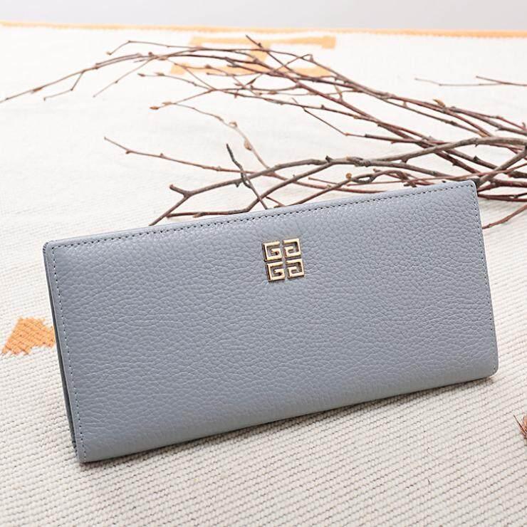BOSTANTEN Women's Genuine Cowhide Leather Long Wallet Zipper Clutches For Women - intl