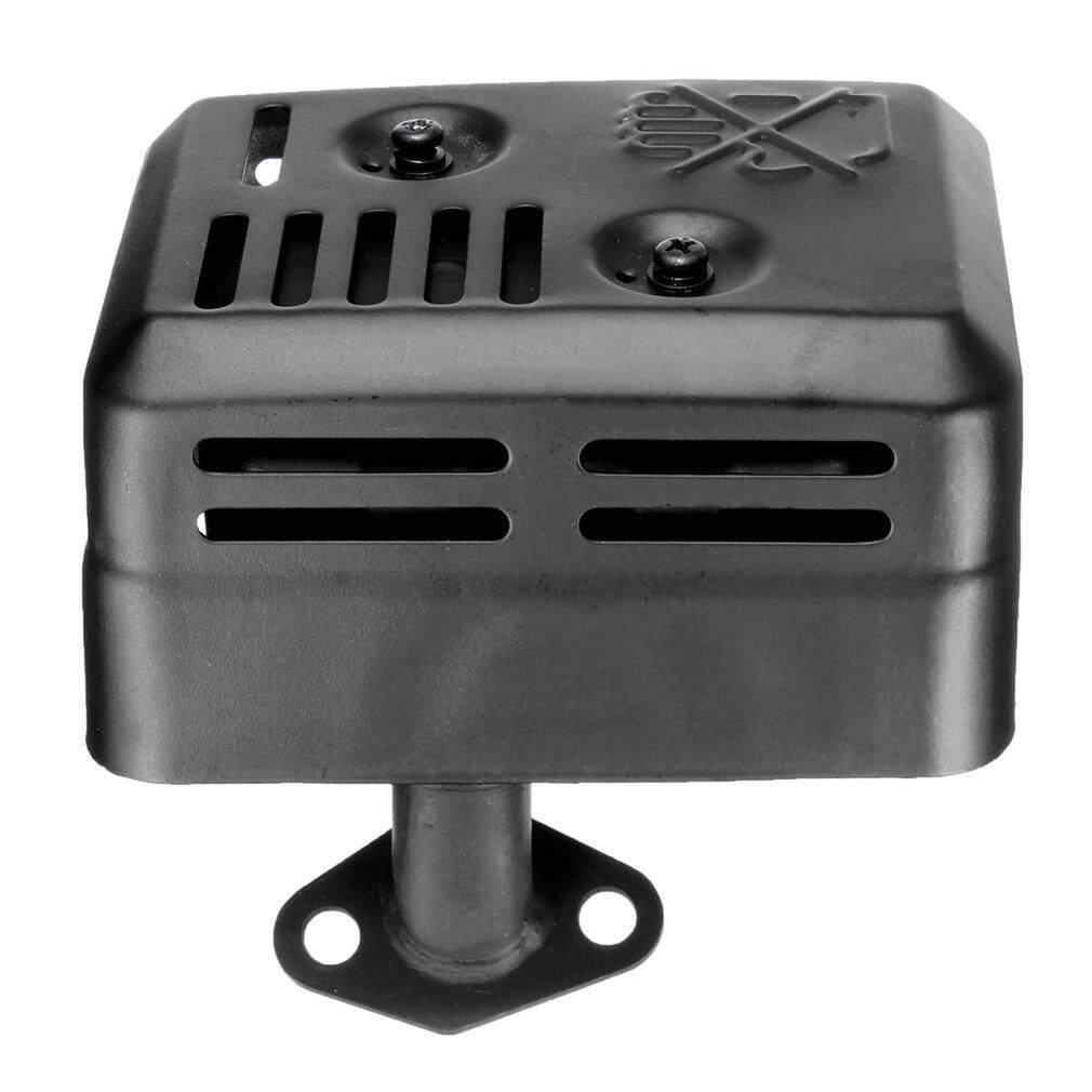 GETEK Exhaust Muffler System Fitting For Honda GX120 GX160 GX200 5.5 HP 6.5 HP