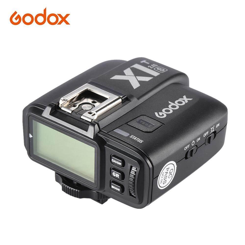 GODOX X1T-S TTL 1/8000 S HSS Pemicu Jarak Jauh Transmiiter Built-In GODOX 2.4G Nirkabel X Sistem untuk Sony a77II/A7RII/A7R/A58/A99/ILCE6000L Ildc Kamera-Intl