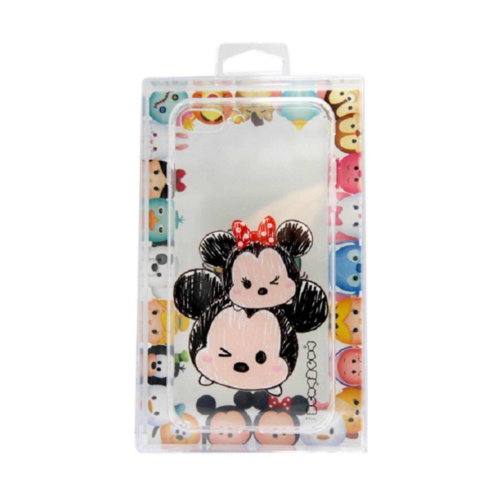 Disney Tsum Tsum Transparent iPhone 7 Plus Case - Mickey & Minnie