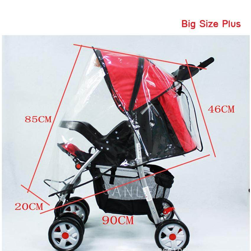 Baby Stroller Accessories Universal Waterproof Rain Cover Wind Dust Shield Zipper Open For Baby Strollers Pushchairs Activity & Gear