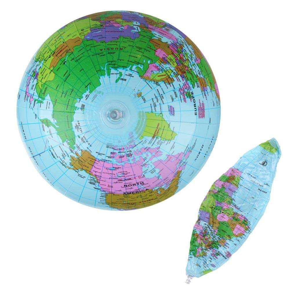 Geography buy geography at best price in malaysia lazada ipree 40cm inflatable world globe map balloon beach ball teach education geography toy gumiabroncs Images