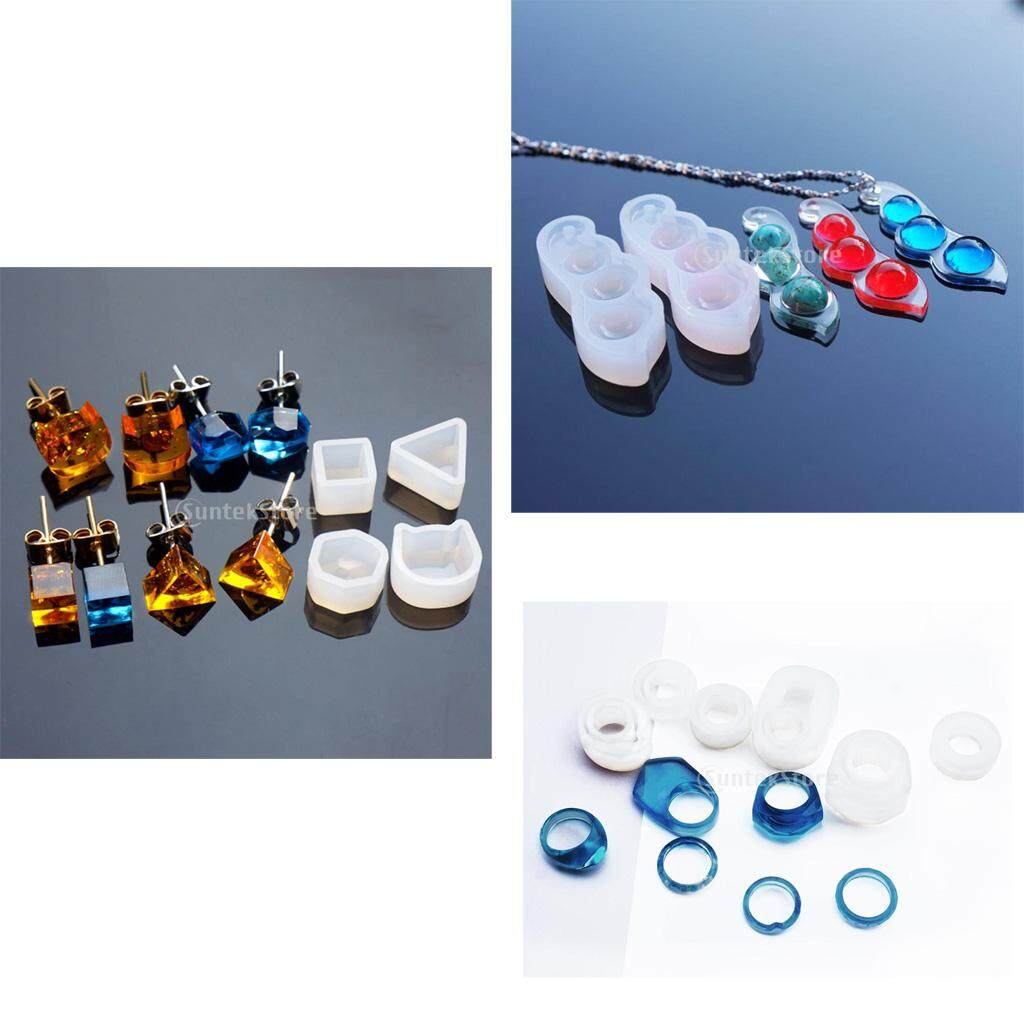 Bolehdeals 8 Pieces Mixed Silicone Diy Ring Molds Resin Jewelry Making Craft Mould Tool - Intl By Bolehdeals.