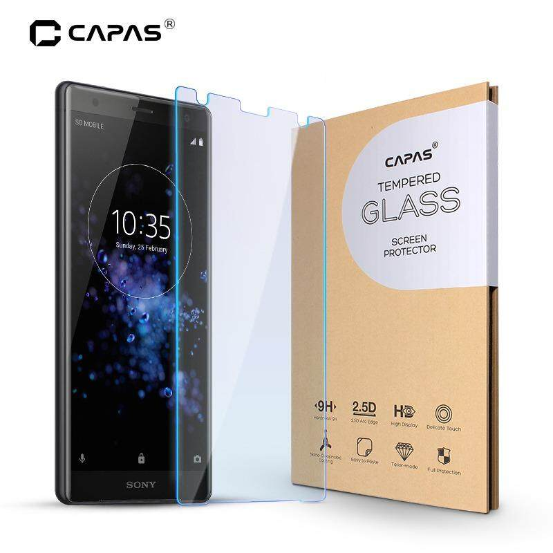 Capas Ultra Slim Clear Tempered Glass For Sony Xperia XZ2