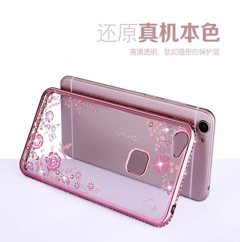 Vivo v5 v5s y67 high class secret garden 2 tpu dimond case for My secret case srl