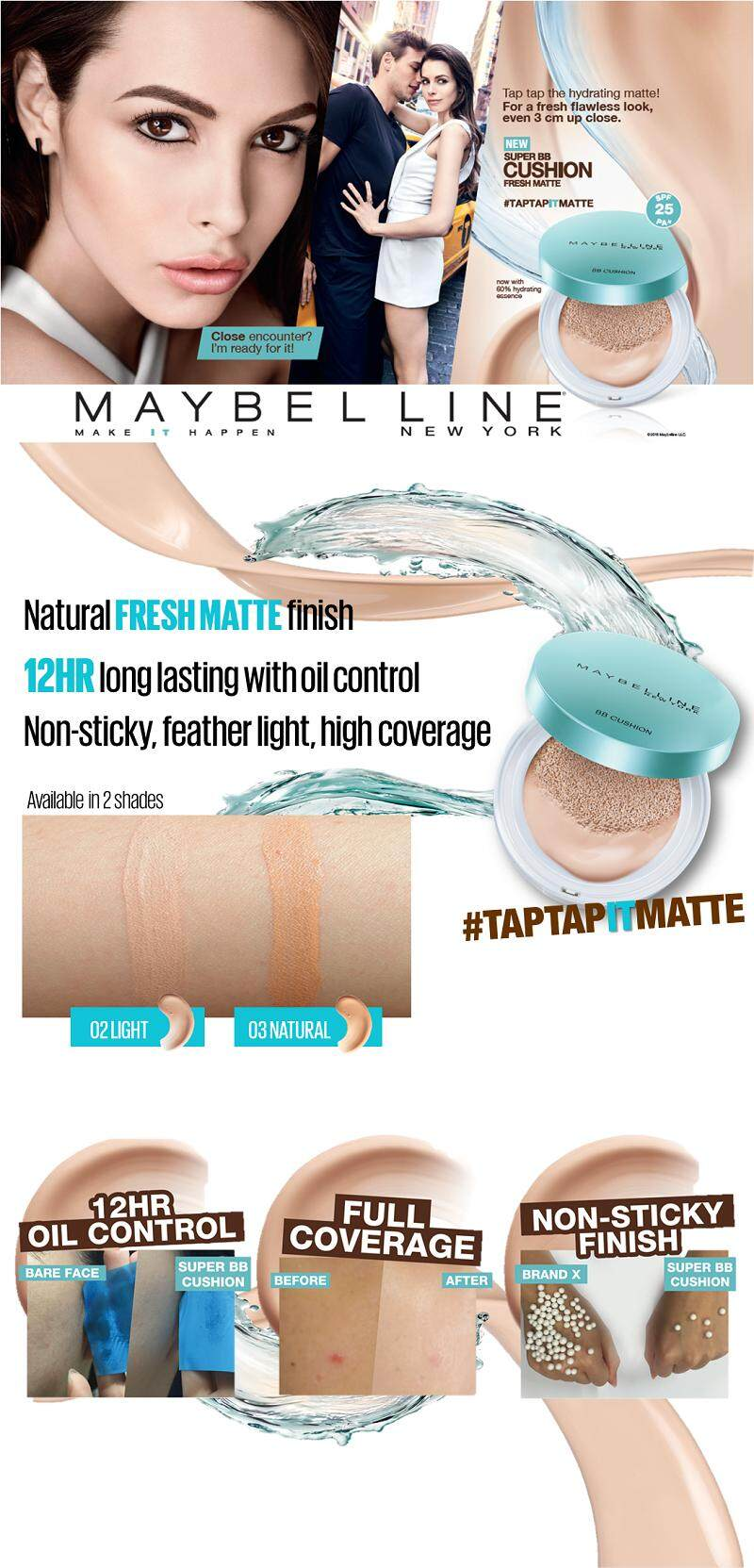 Buy Maybelline Super Bb Cushion Fresh Matte Deals For Sand Beige Related Image
