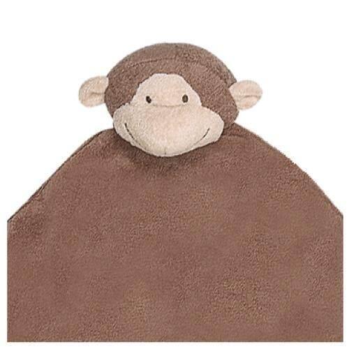 Angel Dear Brown Monkey Napping Blanket