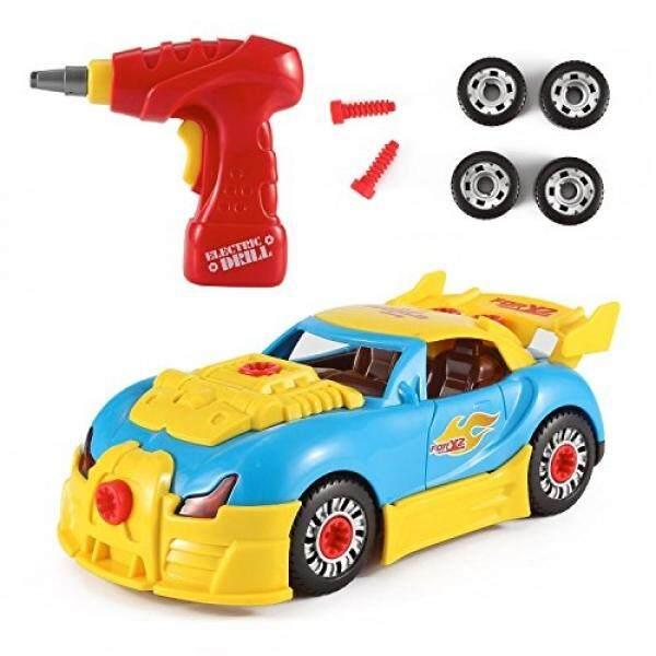 FMT Dunia Mobil Balap Mengambil-Bagian Mainan untuk Anak-anak dengan 30 Bongkar Buah
