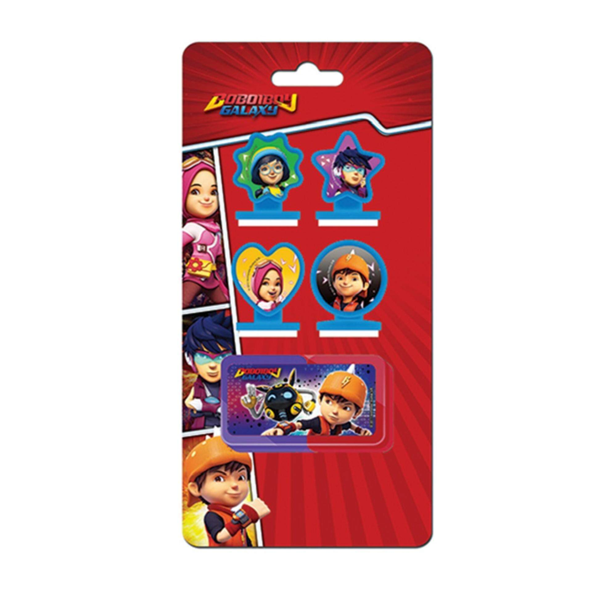 BoBoiBoy Galaxy Stamper Set - Red Colour