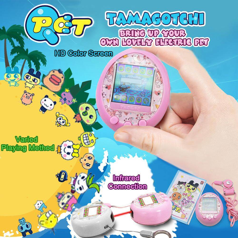 Sale Tamagotchi Cartoon Electronic Pet Game Handheld Virtual Pet Kids Toy Gift Intl Not Specified