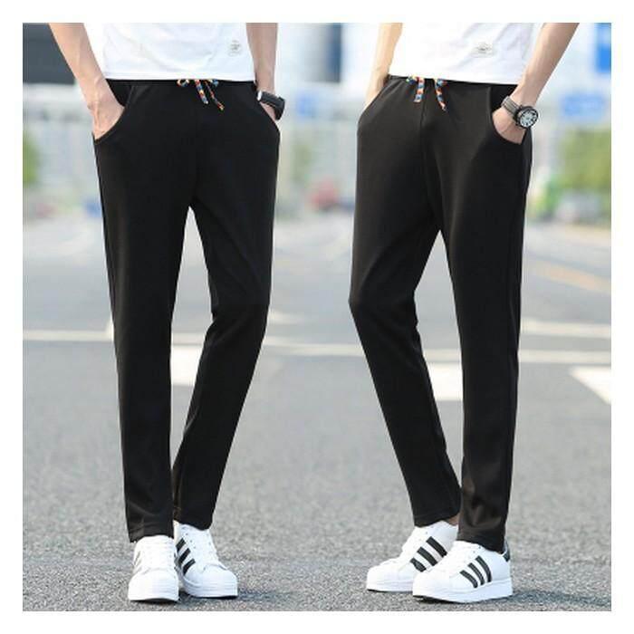 (Pre Order ETA End Feb 2021 CNY Break)(Pre Order ETA 14/2) Korean Style Men Harlem Pants Collection-245-1771 (Black)