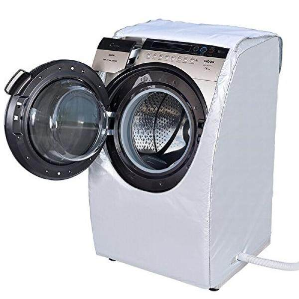 MyLifeUNIT Silver Front Load Washer Washing Machine Cover for Sanyo DG-L7533BCX(7.5kg) Type Washer - intl