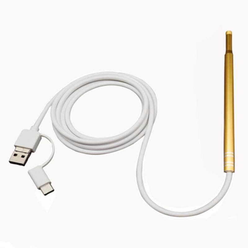DIÊN QUÂN 3 trong 1 USB Vệ Sinh Tai HD Camera Nội Soi Tai Thìa Đa Năng Earpick với Camera và Đèn tai nghe nhét tai Chăm Sóc Sức Khỏe Dụng Cụ Vệ Sinh