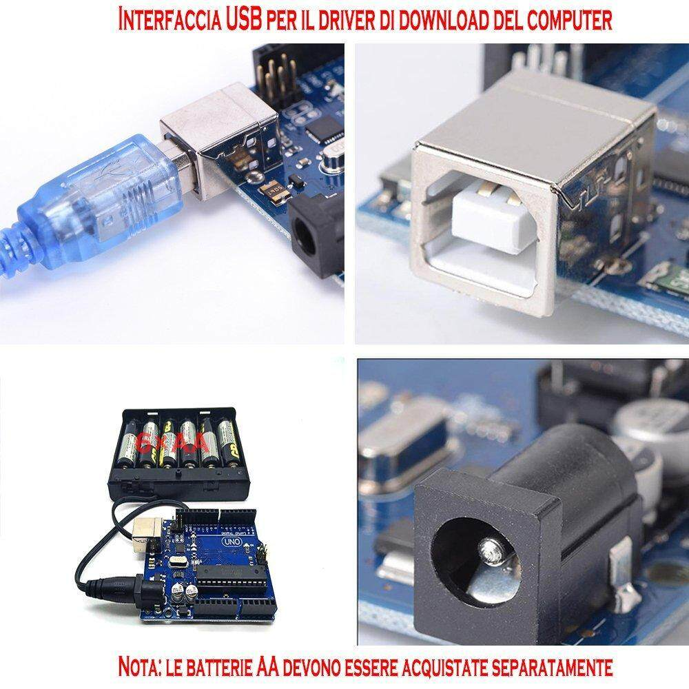 Fitur Cloudsea Uno R3 Atmega328p Development Board Compatible Arduino 16u2 Dip Usb Cable Programming Ide Kit Microcontroller With Interface Power