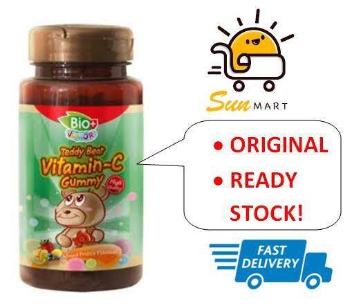 BioPlus Junior Teddy Bear Vitamin C Gummy (80 Gummies)