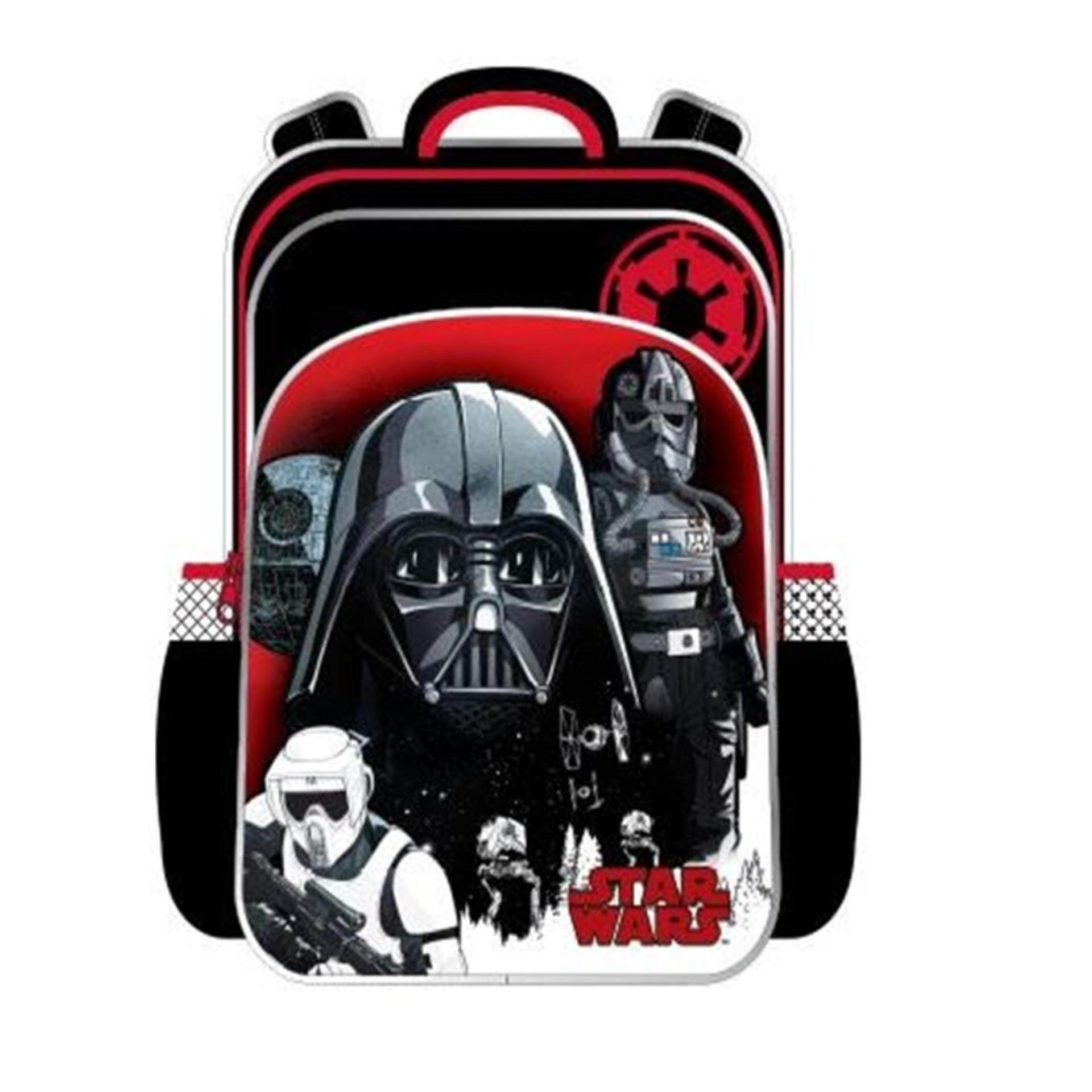 Disney Star Wars Primary School Bag Backpack - Darth Vader