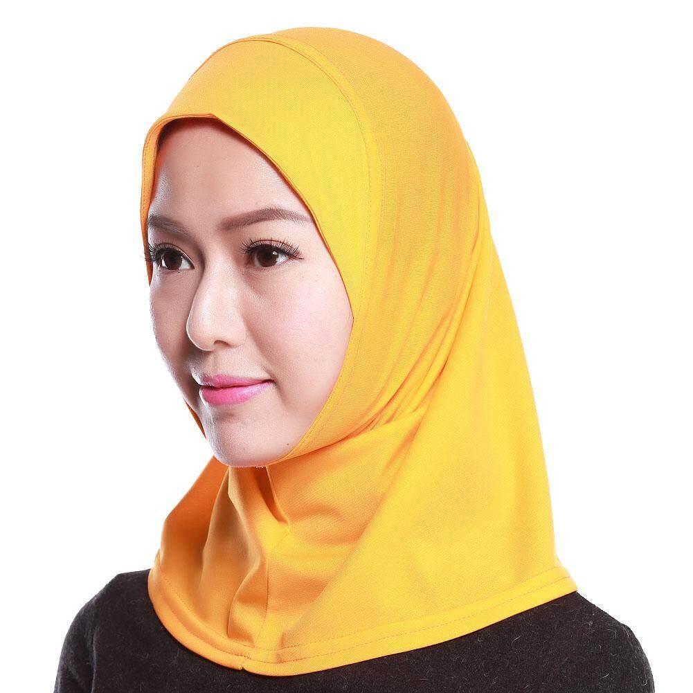 Wanita Muslim Mini Jilbab Syal Lebih Warna Pilihan Mini Hejab Kepala Selendang Islam Leher Sarung Kepala Memakai Serban-Internasional