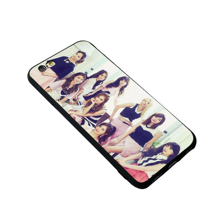 Girls Generation snsd 2 Soft phone case for iPhone 6 Plus / 6s Plus - intl