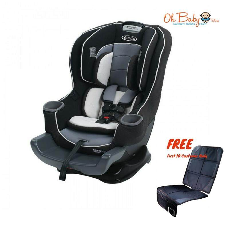 GRACO EXTEND2FIT Convertible Car Seat New Born Up To 29kg