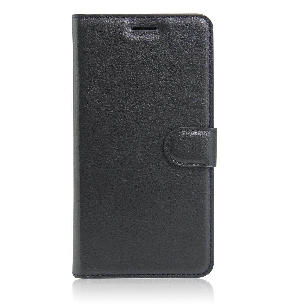 PU Leather Flip Cover Wallet Card Holder Case For Alcatel POP S7 / OT7045 - intl