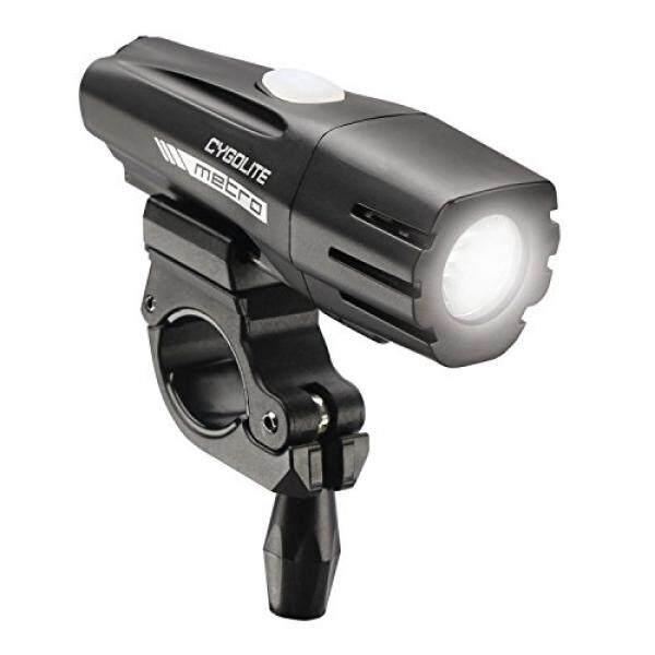 Almm Cygolite Metro 500 Isi Ulang Sepeda Ringan, Kuat 500 Lumen Sepeda Lampu Depan untuk Bersepeda Jalan dan Komuter, 6 Mode Pencahayaan Yang Berbeda untuk Keselamatan Siang dan Malam. -Internasional