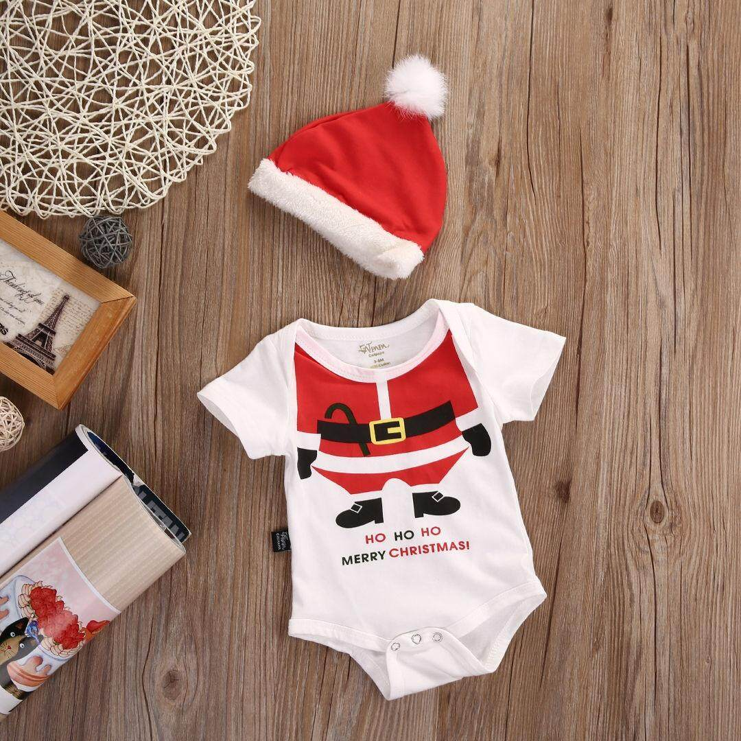 Buy Baby Boys Clothing Accessories Top Lazada Mom N Bab Short Tee Red White Stripe Christmas Newborn Girl Boy Romper Santa Hat 2pcs Outfits Set Clothes 0 18m