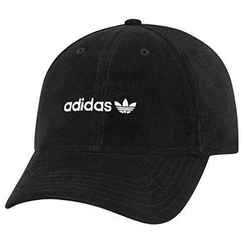 adidas Mens Originals Trefoil Plus Precurve Structured Cap 666f2d573c22
