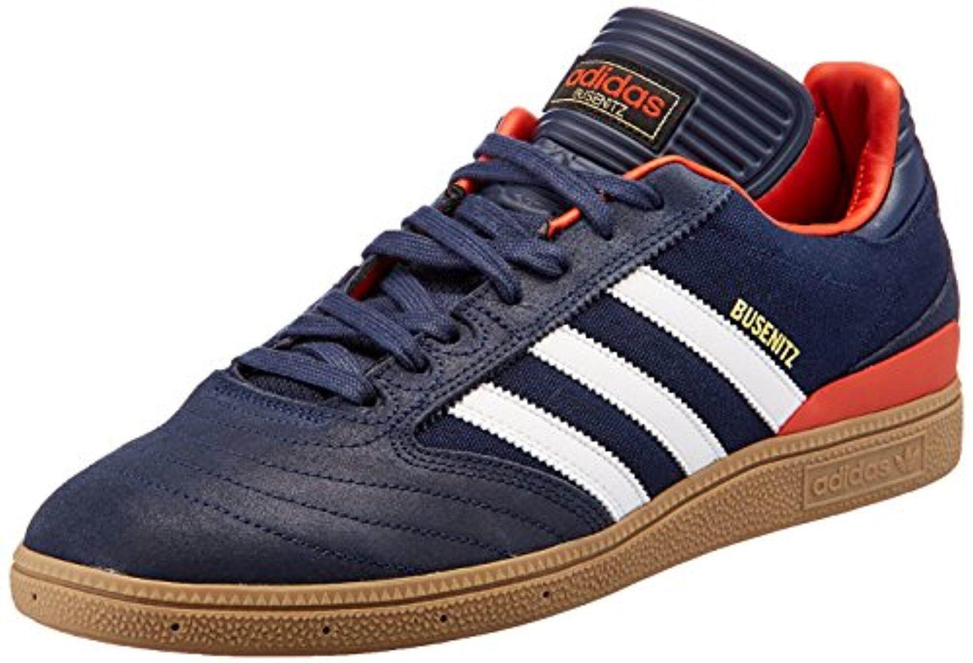 adidas Originals Men's Busenitz Conavy, Ftwwht and Crachi Leather Skateboarding Shoes - 11 UK/India (46 EU) - intl