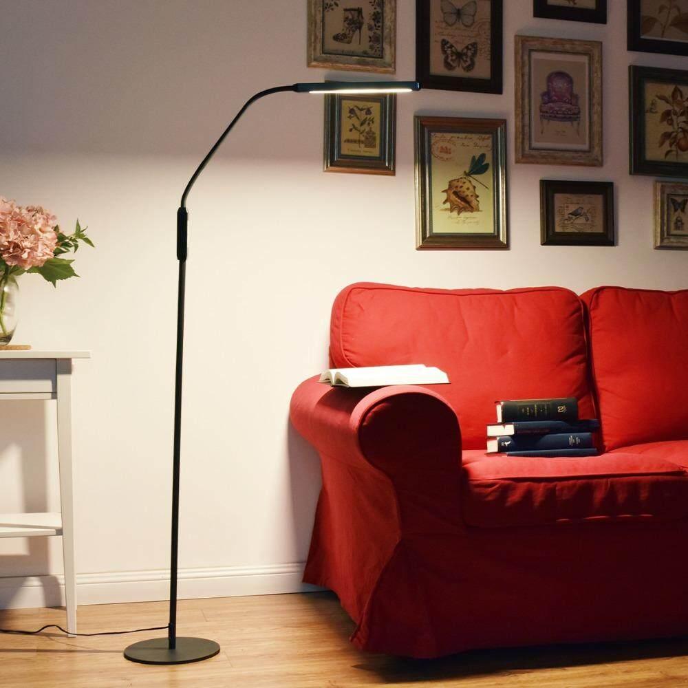 Nordic LED Floor Lamp Modern Standing Light for Living Room Bedroom Office Reading Piano Lamp - intl