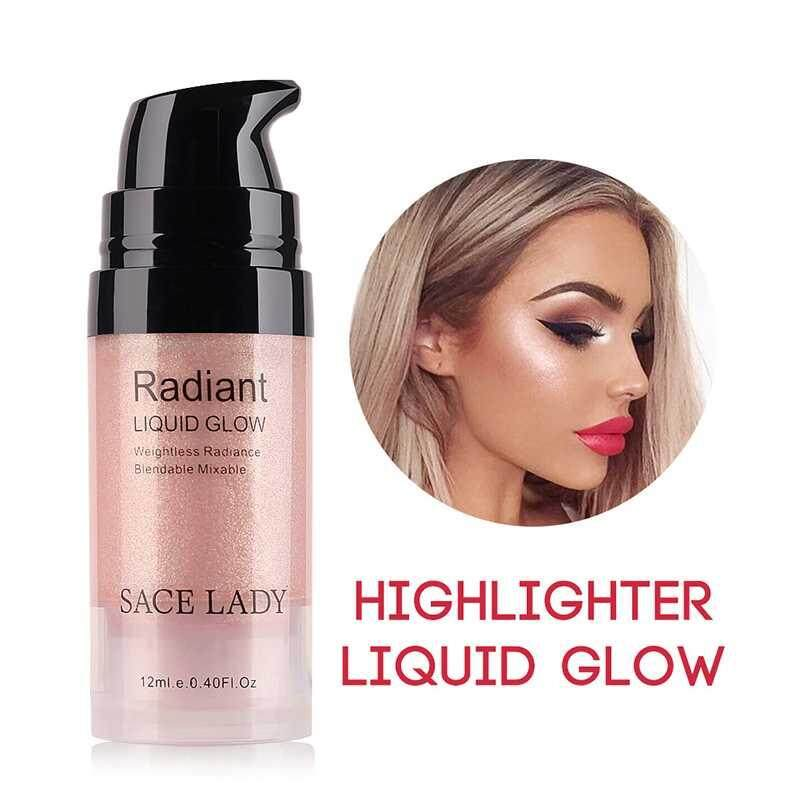 【dongxi】2018 The New Excellent Quality Face Highlighter Cream Liquid Illuminator Makeup Shimmer Glow Kit Make Up Facial Brighten Shine Brand Cosmetic - Intl By Dongxi.