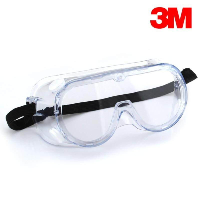 3M 1621AF Safety Goggles Anti Fog [Clear/ Transparent]