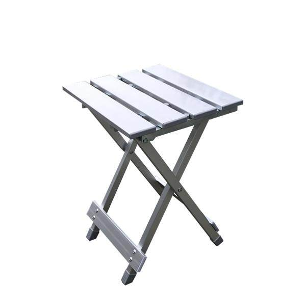 Compact Portable Folding Aluminum Alloy Chair Outdoor Stool Seat for Fishing Camping Travel Picnic
