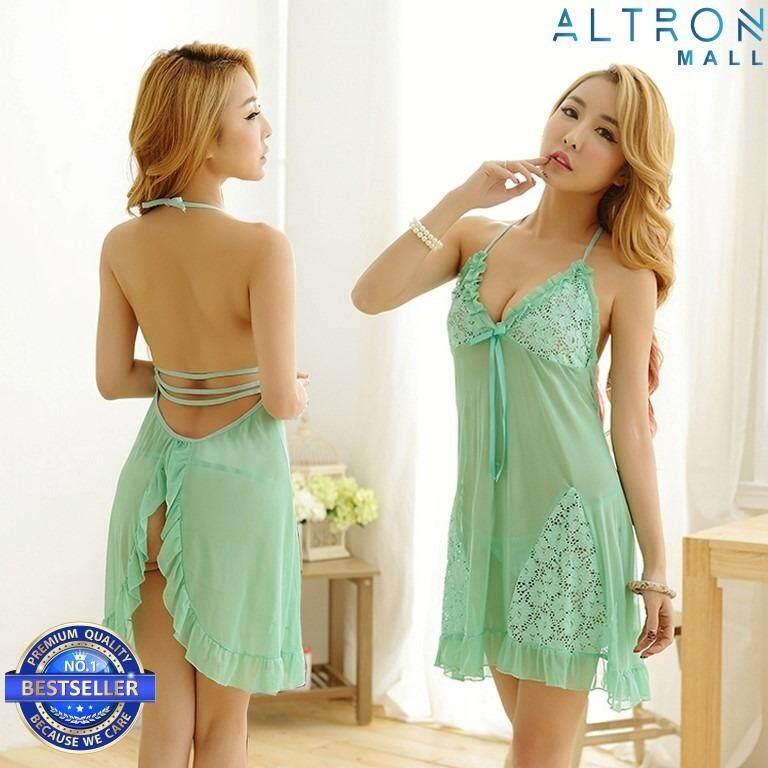 Sexy Lingerie Women Nightdress Babydoll Underwear Sleepwear E313