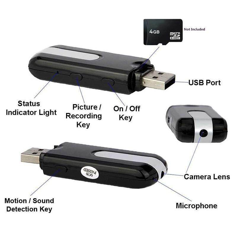 Fuan Mini Camera U8 Usb Disk Spy Recorder Cam Hidden Micro Camerasmotion Detection Dv Dvr Video Mini Camcorders By Fuan.