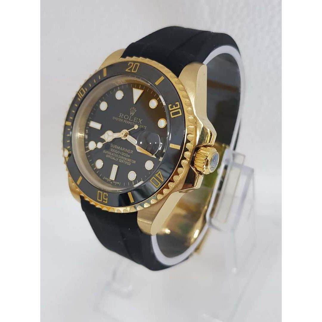 ( 2019 Collection ) ROL LEX SUBMARINER OYSTER RUBBER STRAP