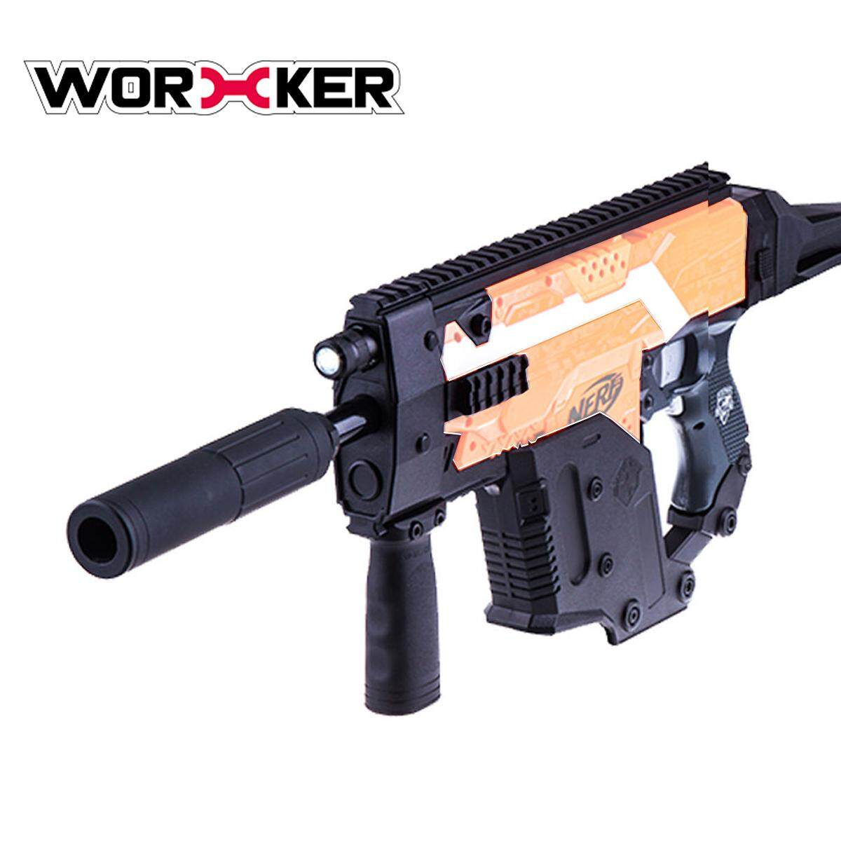 Coupon Worker Mod Kriss Vector Picatinny Rail Mount Combo 9 Items For Nerf Stryfe Toy Intl