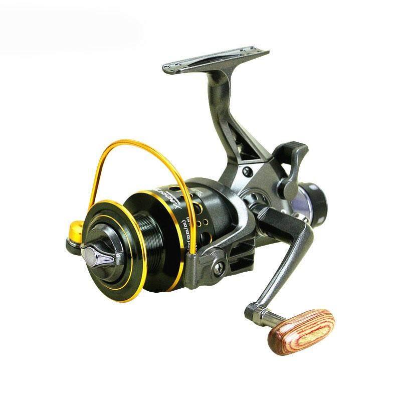 YUMOSHI 52 1 10 BB Fishing Reel MG50 Front And Rear Drag Reels