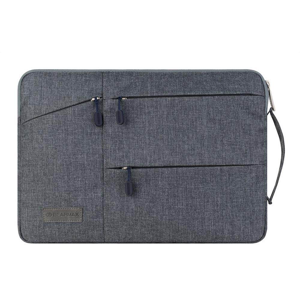GEARMAX New Laptop Bag case Laptop Sleeve for Macbook air pro pouch bag for Lenovo Sumsung Asus 13 inch bag For Men Woman(Gray) - intl