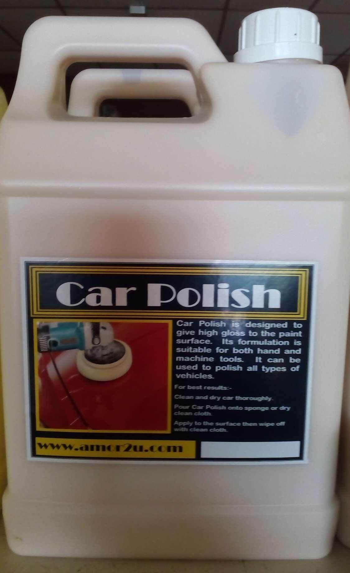 1 pc of 5 liter car polish for car wash