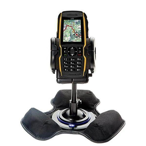 Two Mounts in One: Universal Dashboard Mount and Flexible Windshield Suction Mounts for Sonim XP5300 Force 3G Provide Options for Securing Your Device - intl
