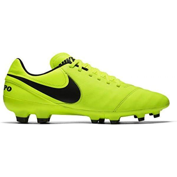 huge selection of 63e5e d221a NIKE Mens Tiempo Genio II Leather FG Soccer Cleat Volt - intl